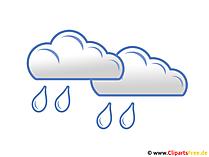 Regenwolken Clipart