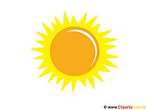 Sonne Bild - Clip Art