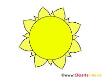 Sonne Clipart, Illustration, Bild kostenlos