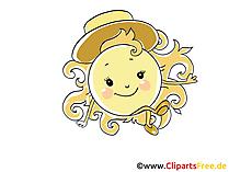 Sonne Icon, Bild, Clipart, Grafik kostenlos