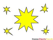 Stern Clipart, Illustration, Bild kostenlos