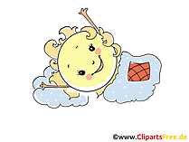 Sun is sleeping clipart, image, picture, cartoon, comic free