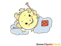 Sun is sleeping clipart, image, picture, cartoon, comic free