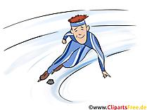 Wintersport Bild Shorttrack