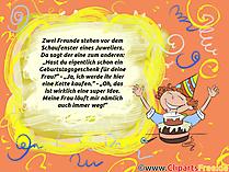 Lustiges Bild mit Text zum Geburtstag