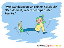 Urlaubswitze Skiurlaub