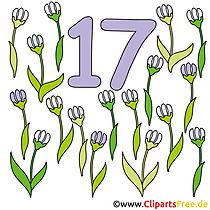 17 - sayılar çizgi film