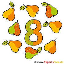8  - 番号を学ぶ