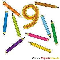 9 - Rechnen lernen mit Kindern Bilder