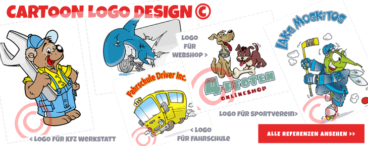 Cartoon Logo Design