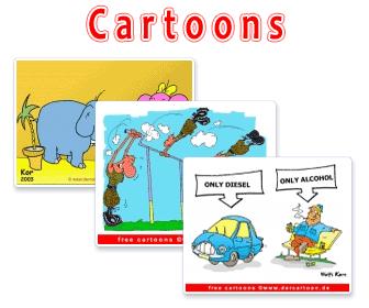 Witzige Cartoons kostenos