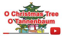 O Kerstboom in het Engels Lied voor Kerstmis