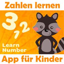 Zahlen lernen App für Kinder